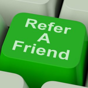Refer A Friend Key Showing Suggest To Person